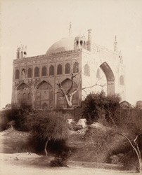 Khudabad, Sindh. Yar Muhammad's Tomb, view from south-east